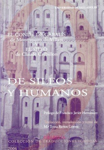 9788484482932: DE SILFOS Y HUMANOS. EL CONDE DE GABALIS de ABATE MONTFAUCON DE VILLARS Y EL SILFO de CREBILLON (2)