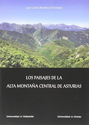 PAISAJES DE LA ALTA MONTAÑA CENTRAL DE: MARTINEZ FERNANDEZ, LUIS