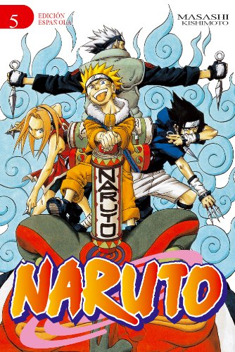 9788484493310: Naruto, Vol. 5 (Spanish Edition)
