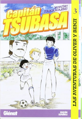 9788484494041: Capitán Tsubasa 3: Las aventuras de Oliver y Benji (Shonen Manga)