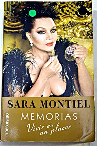 9788484507789: Memorias. Vivir es un placer.