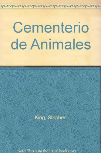 9788484508762: Cementerio de Animales (Spanish Edition)