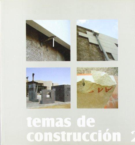 9788484541578: Temas de construcción Vol. II