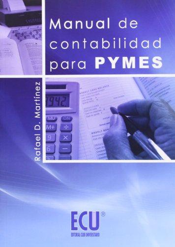 Manual de contabilidad para Pymes (Paperback): Rafael Domingo Martínez