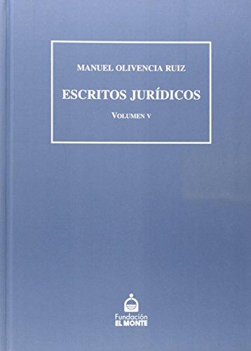 ESCRITOS JURIDICOS (V)