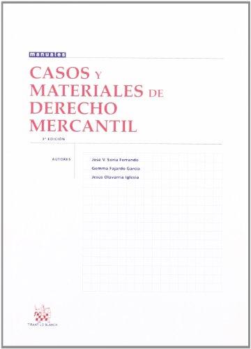 9788484561194: Casos y materiales de Derecho Mercantil