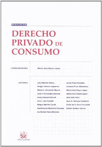 Derecho privado de consumo Manuales