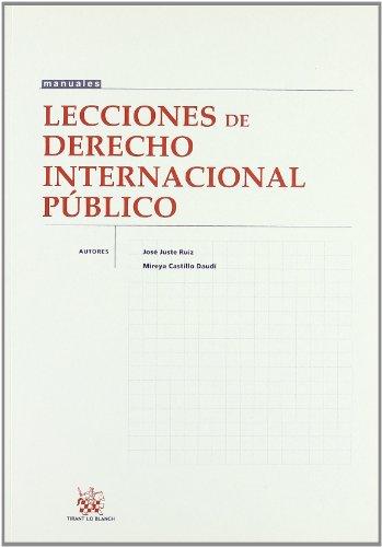 9788484564393: Lecciones de derecho internacionalpublico
