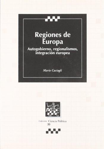 9788484565512: REGIONES DE EUROPA.