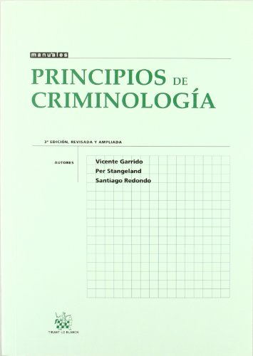 9788484566977: Principios de Criminología
