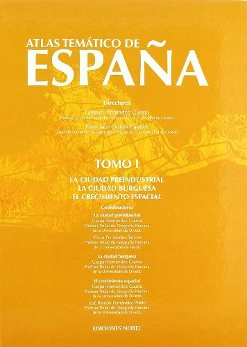 9788484596486: Atlas temático de España. Tomo I