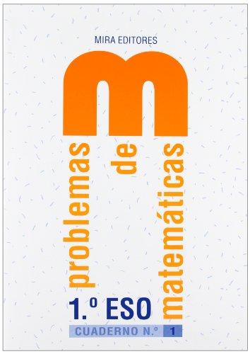 9788484652380: Problemas De Matemáticas 1º ESO - Cuaderno 1