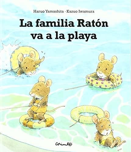 9788484704164: La familia Raton va a la playa