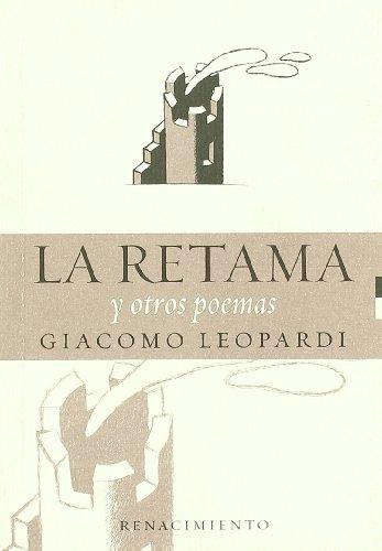 La retama y otros poemas: GIACOMO LEOPARDI