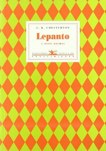 LEPANTO Y OTROS POEMAS: CHESTERTON, G.K.