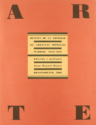 9788484721383: Arte. Revista De La Sociedad De (Facsímiles de Revistas)