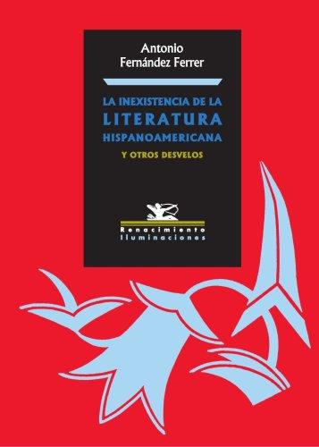 9788484721864: La inexistencia de la literatura (Spanish Edition)