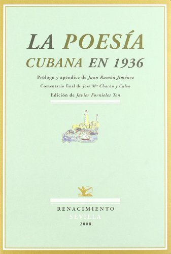 9788484722953: Poesia Cubana En 1936,La (Facsímiles)