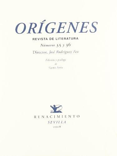 9788484723523: Origenes Revista Nァ35 Y 36 (Facsímiles)