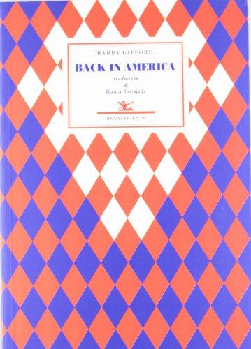9788484726456: Back In America (Poesía Universal)