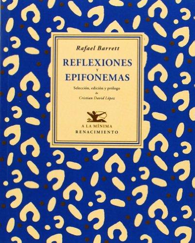 9788484728627: Reflexiones y epifonemas