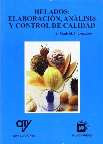 HELADOS Elaboracion analisis y contr: Madrid/Cenzan