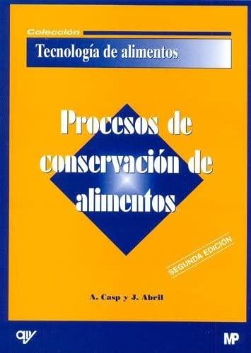 9788484761693: Procesos de Conservacion de Alimentos (Spanish Edition)
