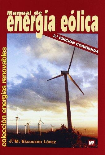9788484763635: Manual de energía eólica (Medio Ambiente)