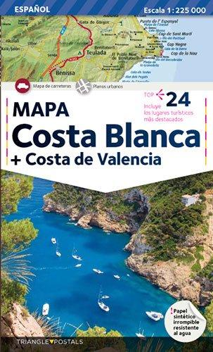 9788484781325: Mapa de Costa Blanca