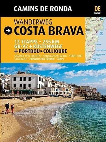 9788484784210: Wanderweg Costa Brava: Camins de Ronda (Guia & Mapa)