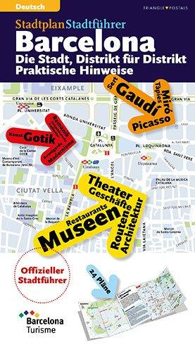 9788484784869: Barcelona plano guia oficial 2014 (Alemany) (Guies)