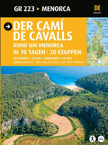 9788484785071: Der Camí de Cavalls: Menorca (Guia & Mapa)