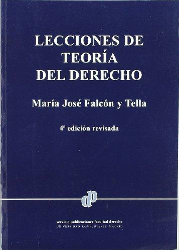 9788484811039: Lecciones de teoria del derecho