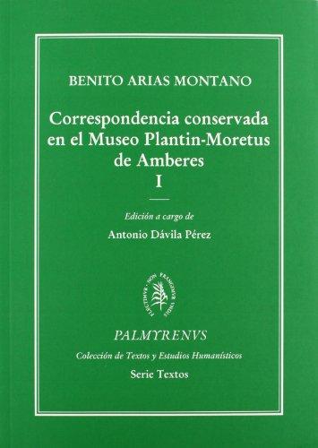 9788484830795: Correspondencia conservada en el Museo Plantin-Moretus de Amberes. Tomos I y II (Palmyrenus)