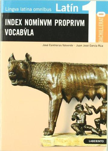9788484833604: Latín: Index Nominvm proprivm Vocabvla - 9788484833604