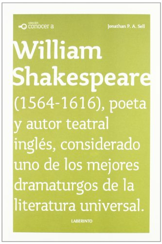 Conocer a William Shakespeare / Knowing William Shakespeare (Conocer a / Knowing.) (Spanish Edition...