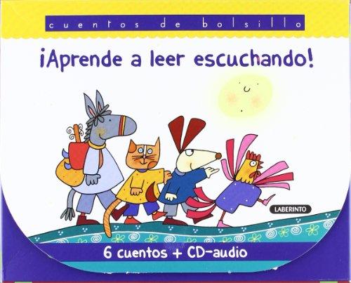 9788484836537: Aprende a leer escuchando! / Learn to read listening!: Los musicos de Bremen & Caperucita roja & Hansel y Gretel & La cigarra y la hormiga & Los tres cerditos & Pinocho (Spanish Edition)