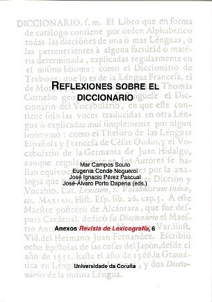 Reflexiones sobre el diccionario: Campos Souto, Mar