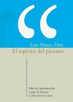 El espiritu del paramo. Edicion, introduccion y: luis Mateo Diez