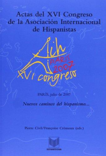 Actas del XVI Congreso de la Asociaci?n Internacional (Spanish Edition): Civil, Pierre