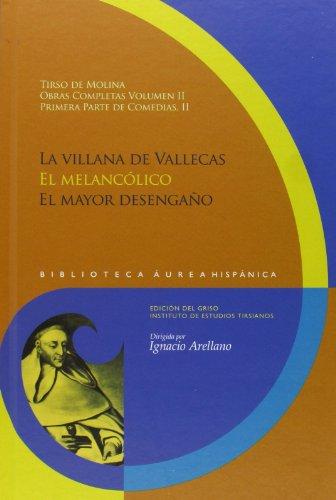 Obras Completas 2 Primera Parte De Comed: Tirso de Molina