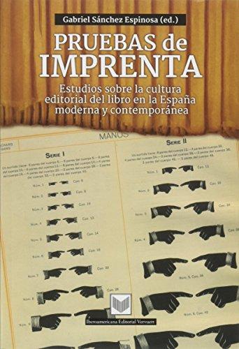 9788484897637: Pruebas de imprenta. (Spanish Edition)