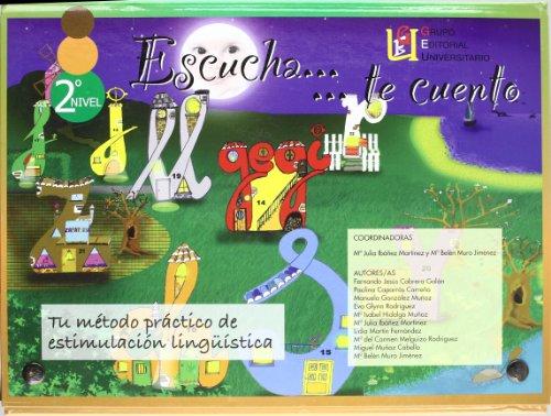9788484914150: Escucha Te Cuento (Nivel 2)(Estuche Lib+Cd)