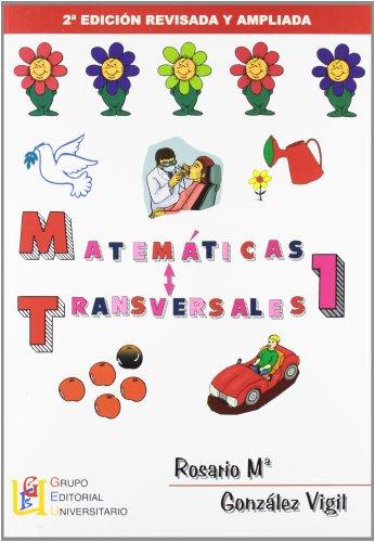 9788484915294: Matemáticas transversales 1