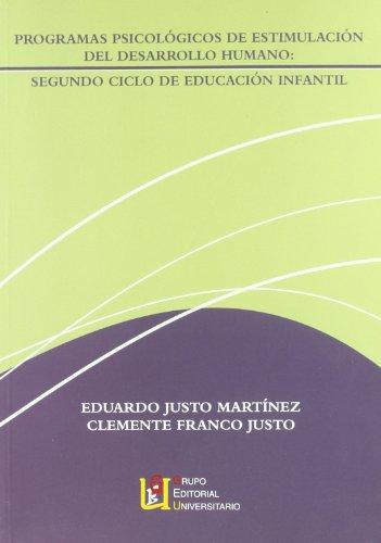 9788484916239: Programa psicológico de estimulación del desarrollo, Educación Infantil, 2 ciclo
