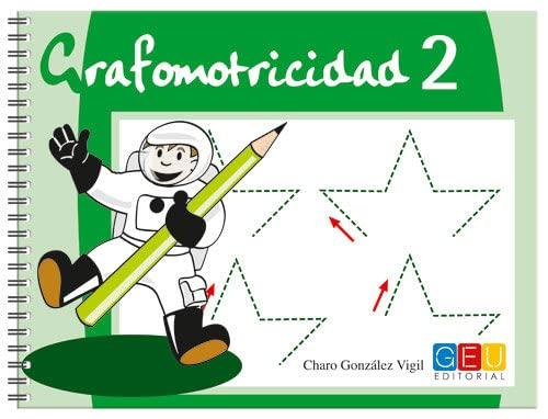 9788484917410: Grafomotricidad 2/ Editorial Geu/ Educación Infantil/ Mejora del manejo Del lápiz y La Escritura/ Recomendado para trabajar en Casa O El Aula (Niños de 3 a 5 años)