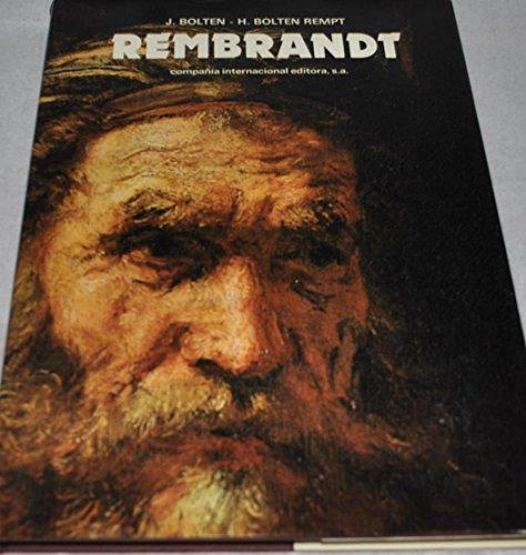 REMBRANDT. 1ª edición: BOLTEN, J. - BOLTEN REMPT, H