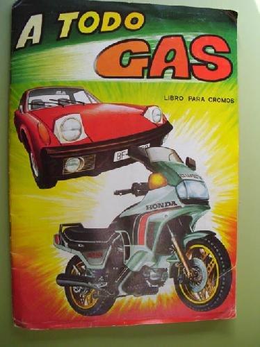 9788485037452: ÁLBUM CROMOS - STICKER ALBUM : ÁLBUM MAGA - A TODO GAS. COMPLETO