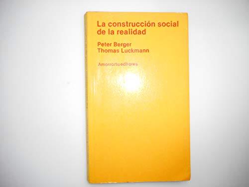 9788485043118: Construccion social de la realidad, la