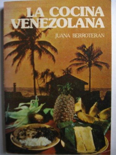 9788485056279: La cocina venezolana (Spanish Edition)